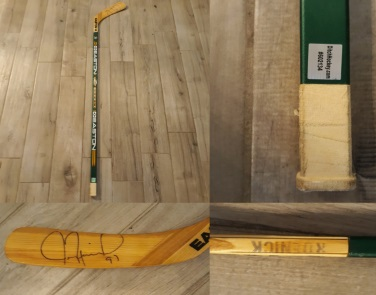 Jeremy Roenick - Autographed Used Stick
