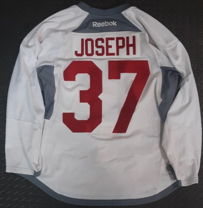 pierre-olivier joseph 37 jersey signed game worn