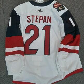 Stepan Game Worn Jersey